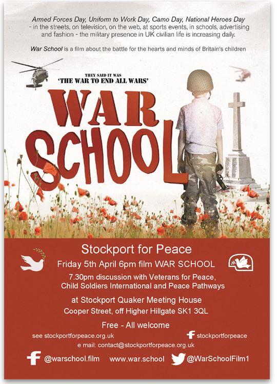 War School Poster